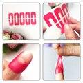 30 Unids Cubiertas Del Dedo Esmalte de Uñas de Manicura de Uñas de Arte Escudo Anti-adherente Moldes Herramienta Para esmalte de Uñas