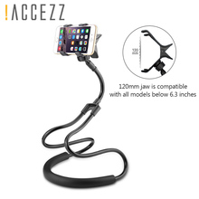 !ACCEZZ Lazy Neck Stand Holder Long Arm Adjustable Mount Universal Phone For iPhone Flexible Rotate Bed Desktop  Support Bracket