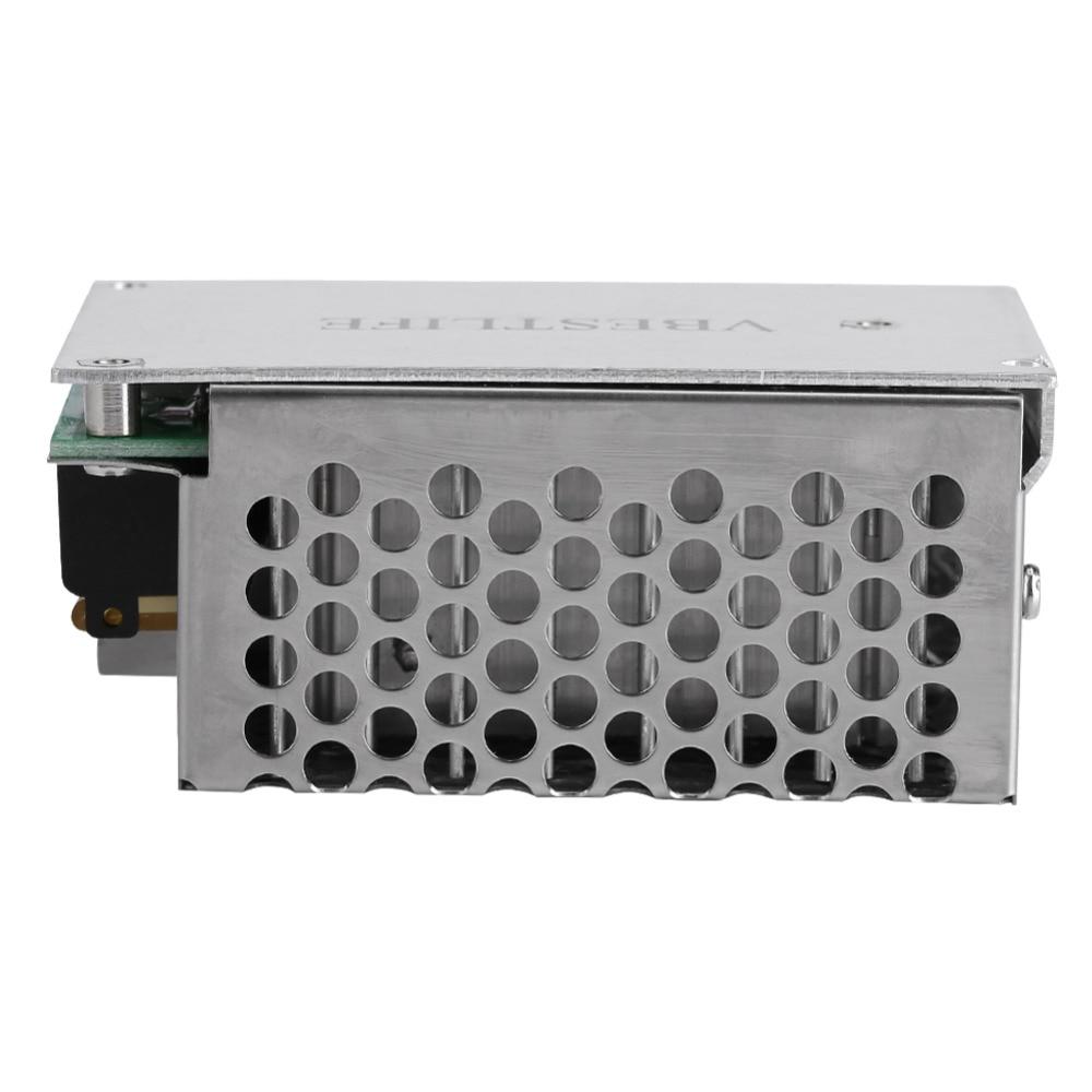 Heimwerker Verantwortlich 10000 Watt Spannung Controller Scr Digitale Spannung Regler Speed Control Dimmer Thermostat Ac 220 V 80a
