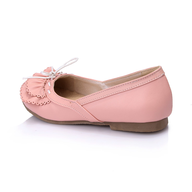 Simples Rond Mode Grande Femme Taille blanc Doux Demoiselle Bout Light 43 Femmes 34 rose Morazora Chaussures Blue Pu Ballerines Cosplay x8wO68q