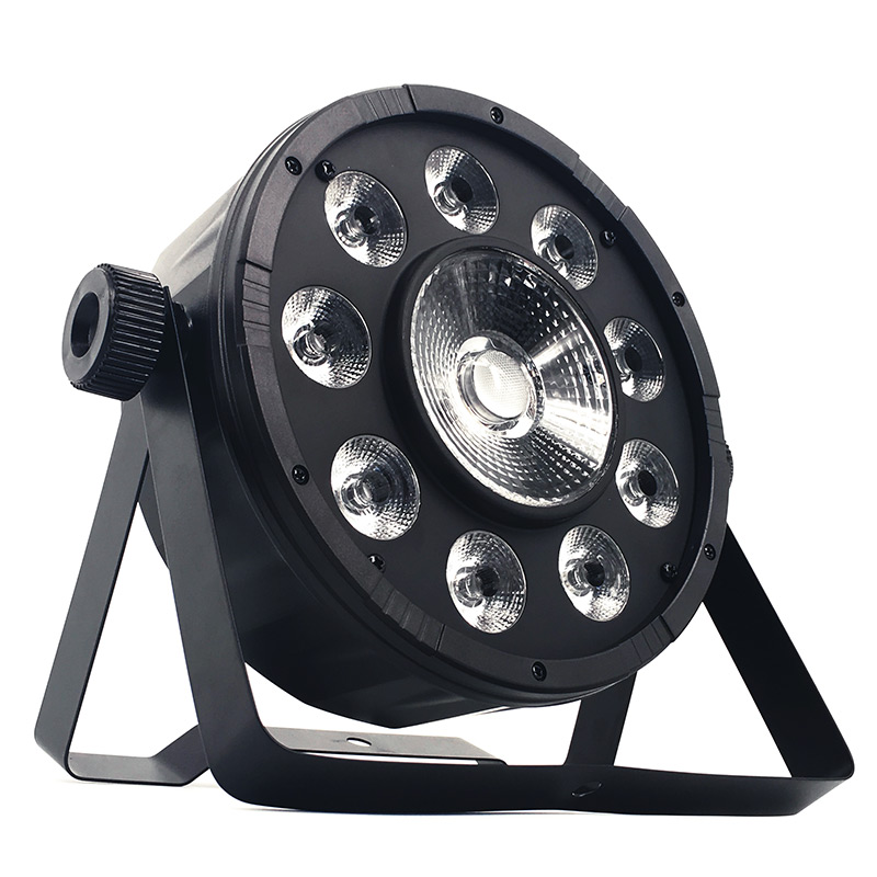 SHEHDS LED Flat Par 9x10W+30W RGB Lighting RGB 3IN1 LED Light DMX512 Disco Lights Professional Stage DJ Equipment free shipping 9x10w 30w flat led par lights 9 10w 30w rgbw 3in1 par dmx512 control disco lights professional stage dj equipment