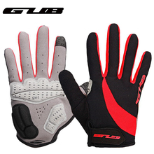 Free shipping GUB Touch Screen bike gloves GEL full finger mountain MTB sports cycling bicycle Motorcycle Full Finger Gloves