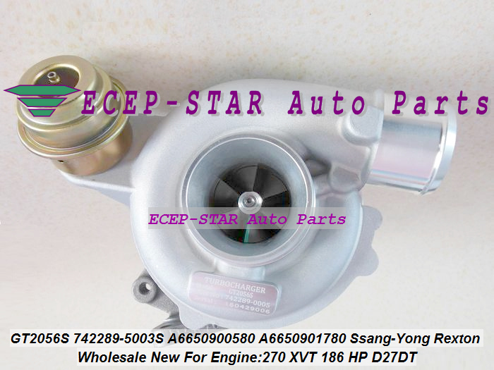 Auto Replacement Parts Gt2056s 742289 742289-5003s 742289-0001 Turbo A6650901780 A6640900580 A6650901280 For Ssang-yong Rexton Rodius 05-270 Xvt D27dt Cleaning The Oral Cavity.