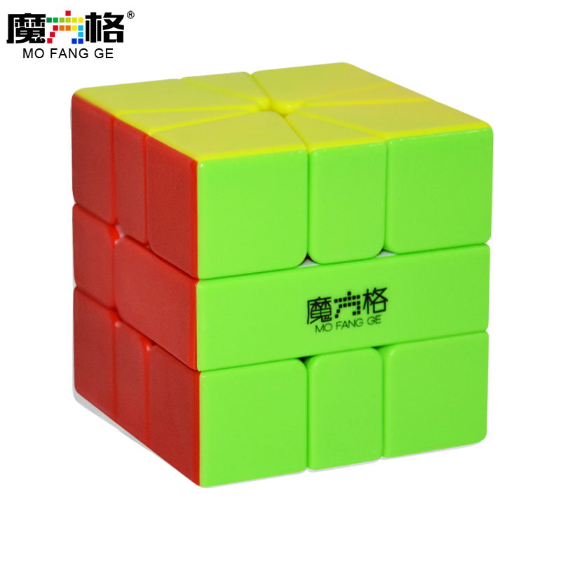 Qiyi MoFangGe MFG Square 1 SQ1 Stickerless Speed Magic Cube Puzzle Educational Toys For Children Kids