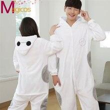 Lo nuevo Adultos Franela Onesies Pijamas Animal Lindo de la Historieta Homewear Pijamas Establece Cosplay Costume Party Baymax para Hombres Mujeres
