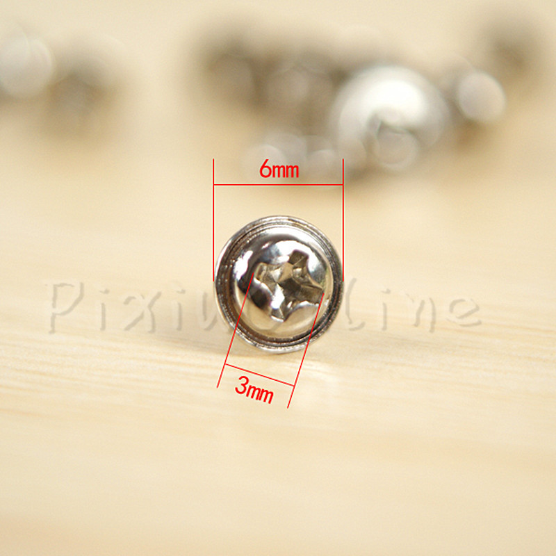 50Pcs ST057b M3*5mm Phillips Pan Head Screw With Gasket Computer CD Driver SSD Solid State Drives Universal Screws