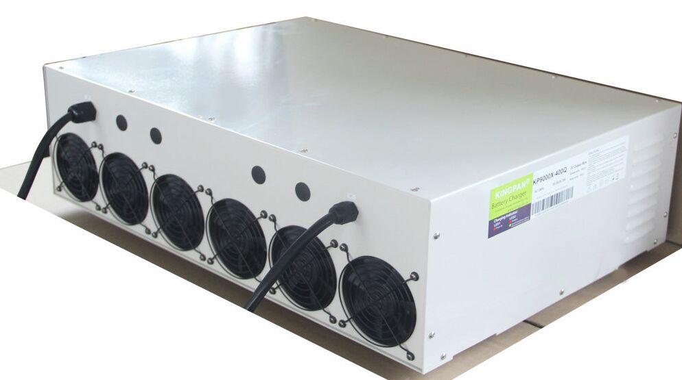 Grande puissance de sortie 350V25A 175V50A 9000 W machine AC à DC chargeur de batterie au plomb pour EV