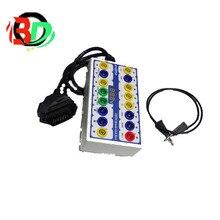 Enoobd OBDII протокол детектор автомобиля OBD Break Out Box Breakout инструмент OBD2 Pin Out BOX