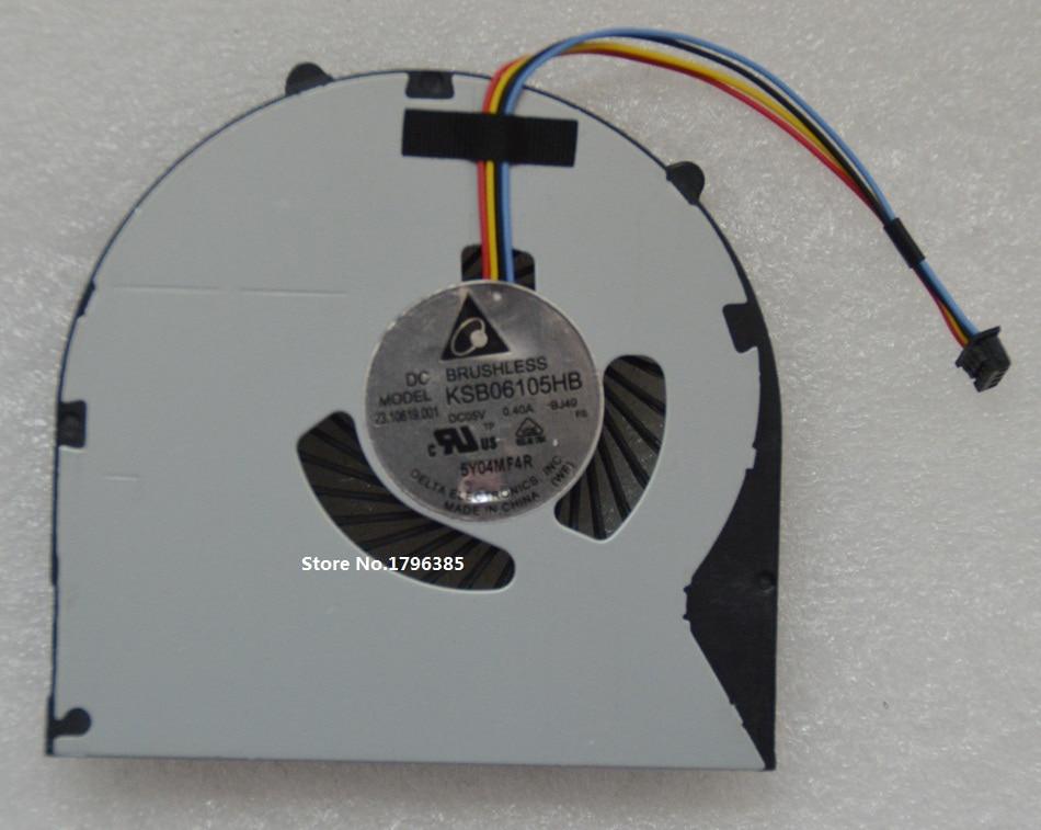 SSEA ապրանքանիշի նոր CPU սառեցնող օդափոխիչ Lenovo V480 V580 B480 B590 B490 M490 M495 E49 K49 Laptop CPU- ի երկրպագու KSB06105HB