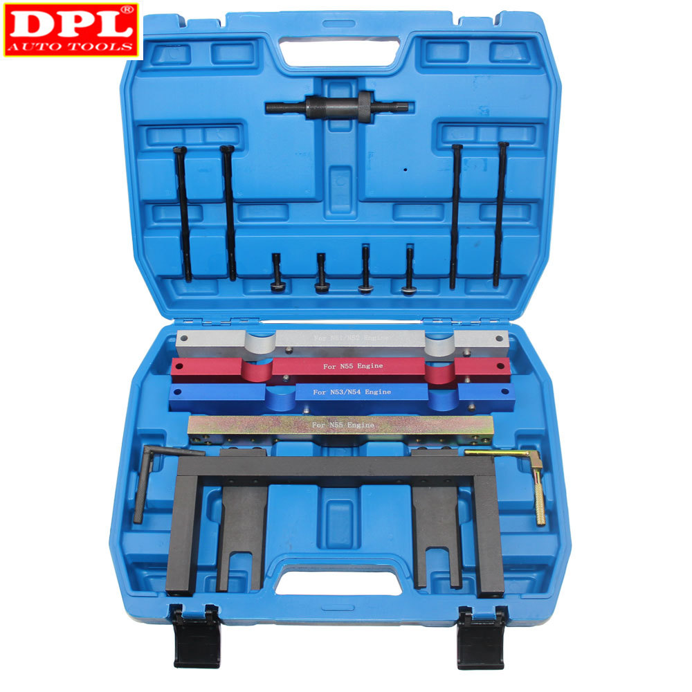 Engine Timing Tool Kit For BMW N51 N52 N53 N54 N55 6 Cylinder 2.3 2.5 2.8 3.0 3.5i Engines