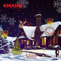Kmashi Overseas Warehouse Fast Delivery 16Pattern Slides Repaceable Christmas LED Projector Light With Red Blue Laser