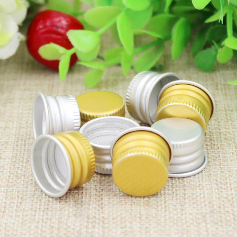 100pcs 15ml Aluminum lid Liquid Water Storage containers small