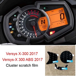 Versys x300 2017 Cluster Scratch Protection Speedometer Film Screen Protector For Kawasaki Versys X-300 Versys-X 300 ABS 2017