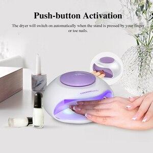 Image 3 - TOUCHBeauty sèche ongles Portable avec Air et lumière LED, bon pour le vernis régulier comme 0889