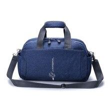 2018 bolsa de lona viajes moda mujeres bolsos de viaje equipaje grande  capacidad viaje ocasional impermeable 76eaca4bf9f66