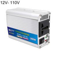 300W Power Inverter 12V/24V to AC 220 Volt USB Modified Sine Wave Digital Car Charge Converter Transformer