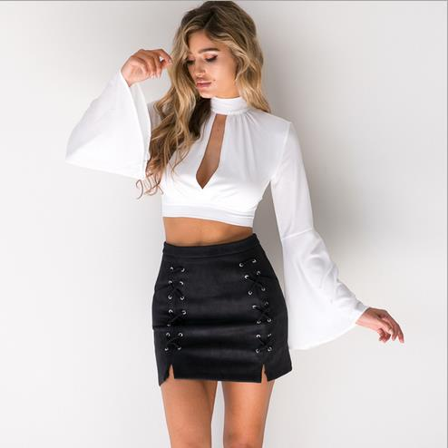 Online Get Cheap Leather Mini Skirt Dress -Aliexpress.com ...