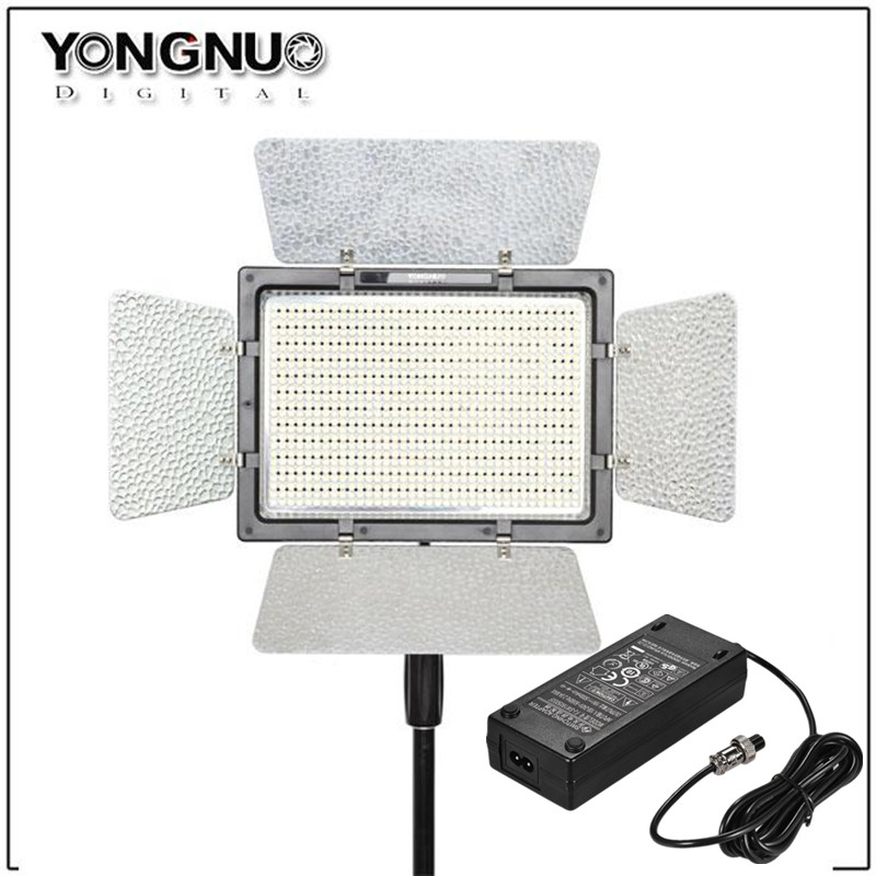 YONGNUO YN900 YN-900 Pro LED Panel Video Light with Adjustable Color Temperature 3200K-5500K for Canon Nikon Camera Camcorder