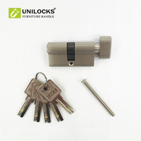 Pure Copper Thickening Single Open Door Lock Core Is 60 Mm Cylinder For 35 To 45mm