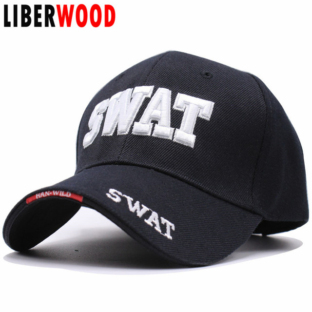 LIBERWOOD 3D Embroidery Tactical Caps Men women Baseball Cap Brand SWAT Cap SWAT  Hat Snapback Caps Gorras Planas Man Combat hat c1aea823023