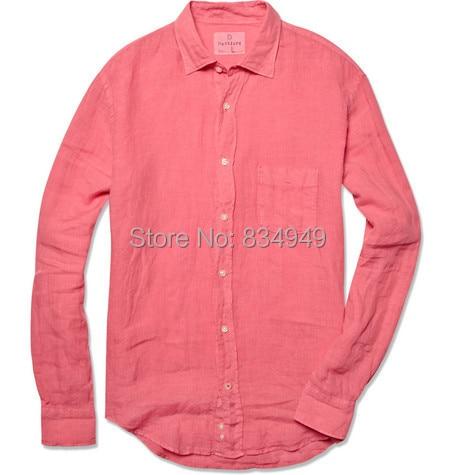 Popular Mens Pink Linen Shirts-Buy Cheap Mens Pink Linen Shirts ...