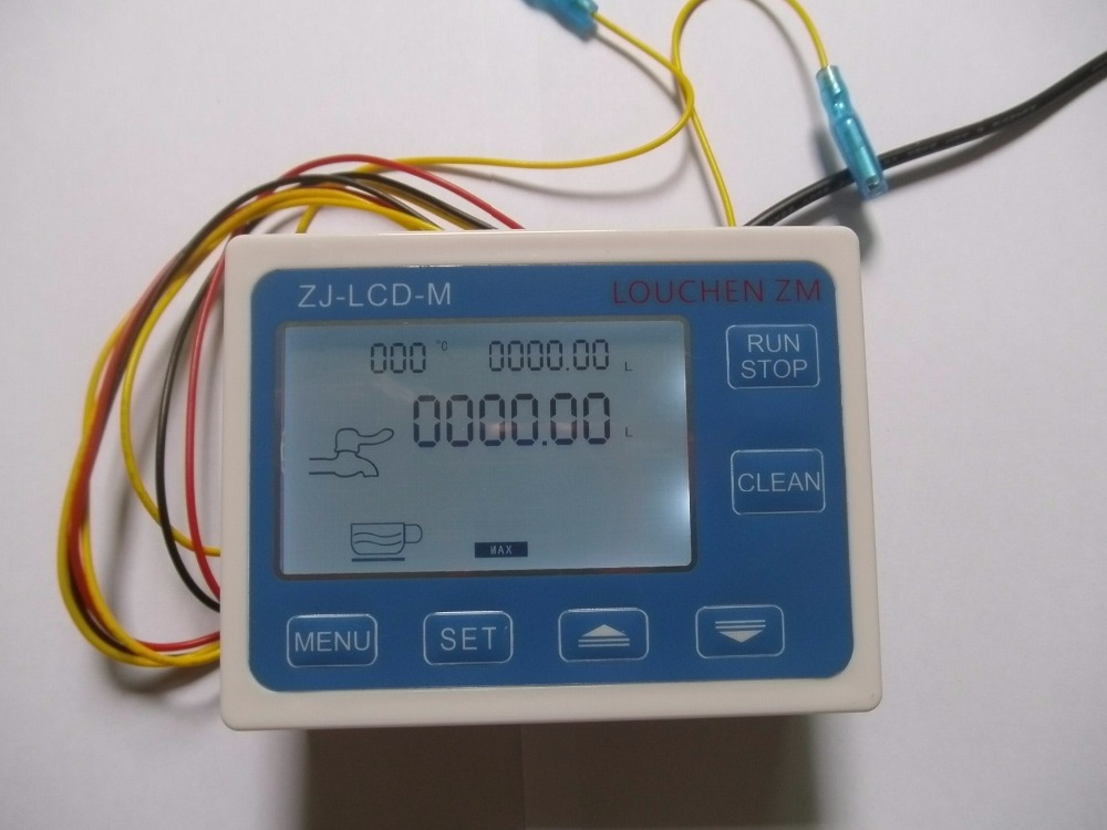 Control Flow Sensor Meter LCD Display ZJ-LCD-M Screen For Flow Sensor Flow  LOUCHEN ZM