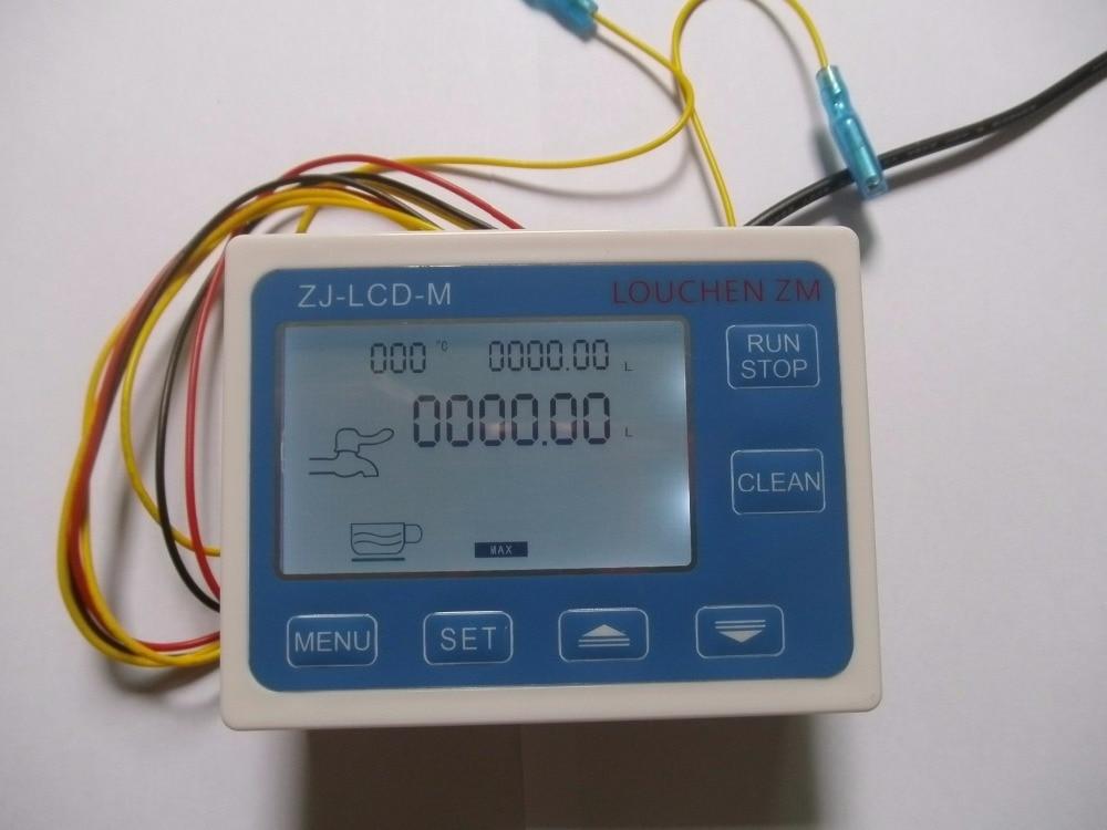 Control Flow sensor Meter LCD Display ZJ-LCD-M screen for flow sensor flow LOUCHEN ZM