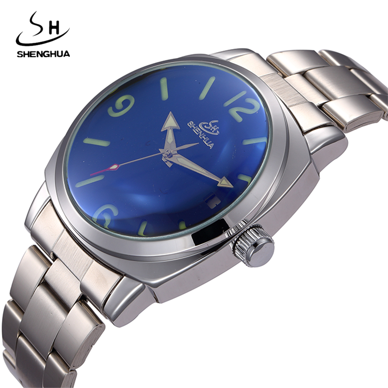 2017 SHENHUA Full Calendar Auto Mechanical Mens Watches Top Brand Luxury Wrist Watch erkek kol saati Montre Homme mg orkina full calendar tourbillon auto mechanical mens watches top brand luxury wrist watch erkek kol saati montre homme