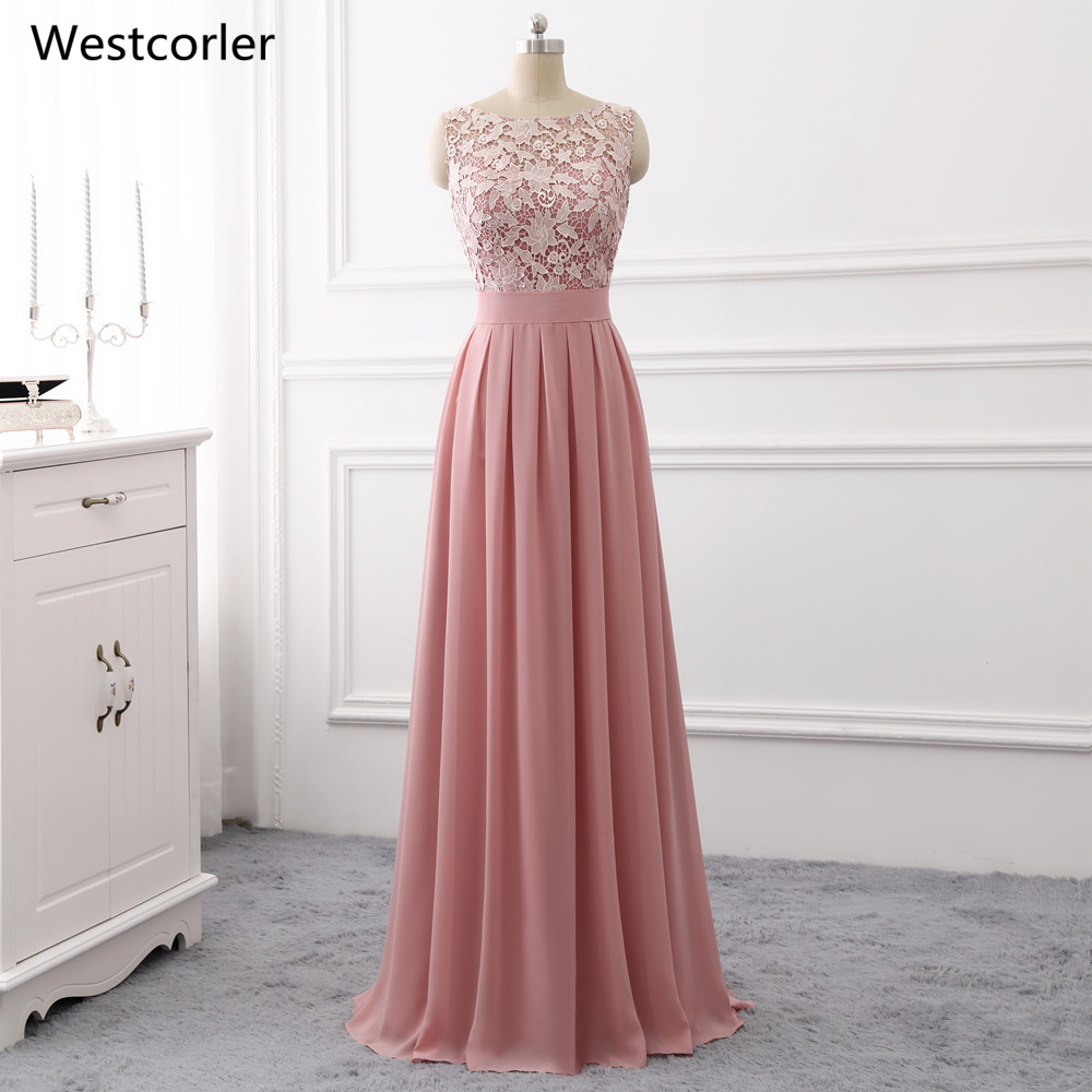 Long Gowns For Wedding Guests: 2018 Hot Sale Wedding Guest Dresses Long Purple Lace