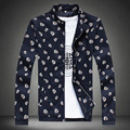 4 Styles Men's Printing Sportwear Coat Tide Skull/Crown/Eye/Lip Thick Loose Casual Outwear Jacket 5XL Uniform Baseball Winter