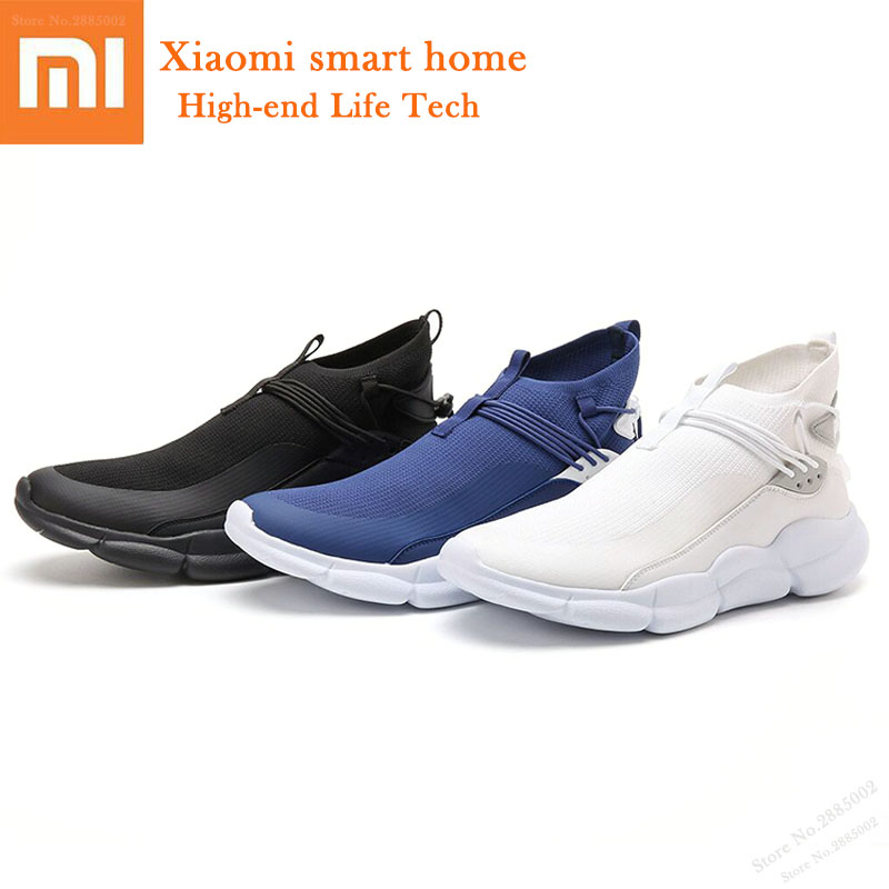 Fashion Xiaomi Uleemark Men High-top Casual Shoes Breathable Fly Woven Lightweight Sports Shoes High Elastic Sneakers Smart HomeFashion Xiaomi Uleemark Men High-top Casual Shoes Breathable Fly Woven Lightweight Sports Shoes High Elastic Sneakers Smart Home
