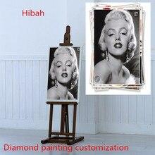 5D DIY diamond painting! Private custom! Photo custom diamond full round diamond