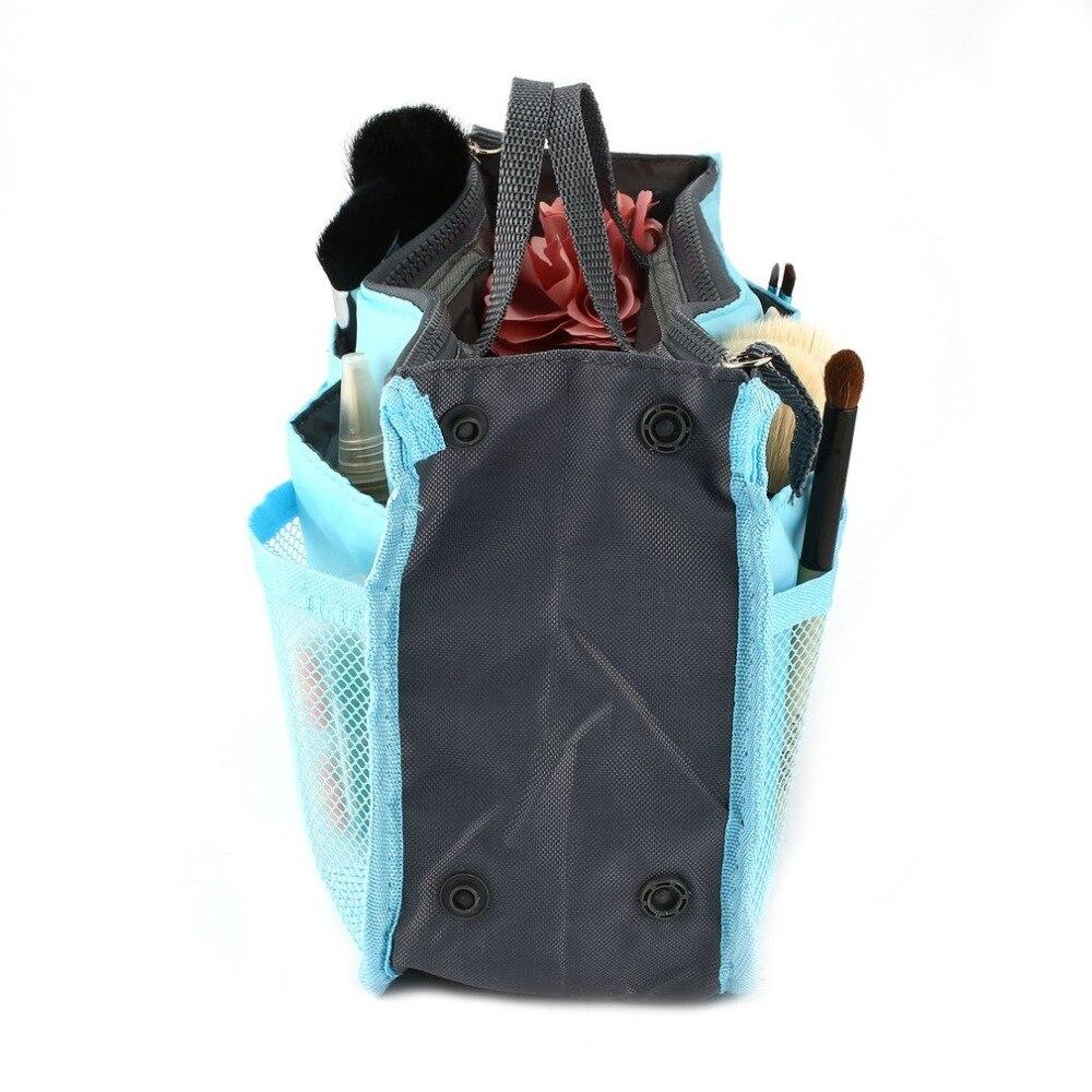 Multifunctional Double Zipper Makeup Bag