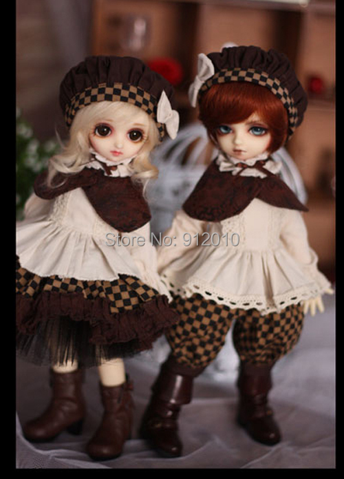 Sweetie Chocolate Mousse European Retro Outfit Suit for BJD Doll 1/6 YOSD Doll Clothes LF4 sweetie chocolate mousse european retro outfit dress suit for bjd doll 1 6 yosd doll clothes lf9