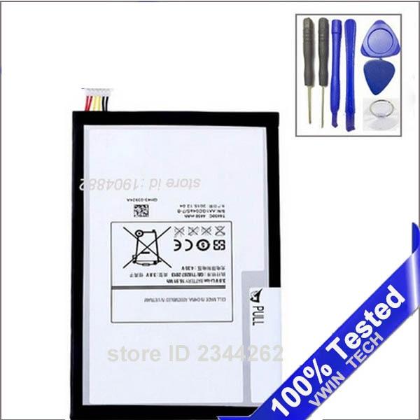 imágenes para 100% Probado T4450E Bateria 3.7 v 4450 mAh Para Samsung GALAXY Tab 3 8.0 T311 T310 SM-T310 SM-T311 batería