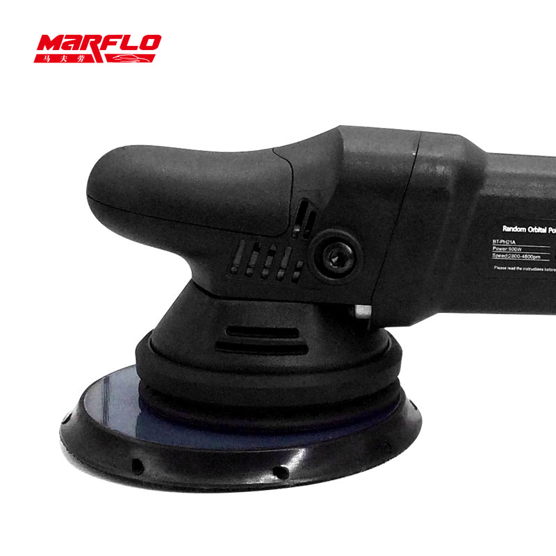 Image 3 - 車研磨機と研磨パッドツール車 d/研磨機デュアルアクション 6 速ランダム軌道研磨 & 研削材料セット   -