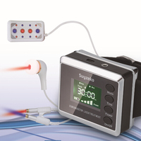 laser therapy Wrist Diode LLLT for diabetes hypertension treatment watch Laser sinusitis Therapeutic apparatus New
