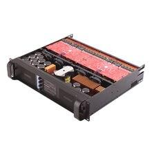 4CH 4*1350 Watt Klasse Td 10000q Line Array Eindversterker Professionele Dj Subwoofer Poweramp Tulun Spelen TIP10000q