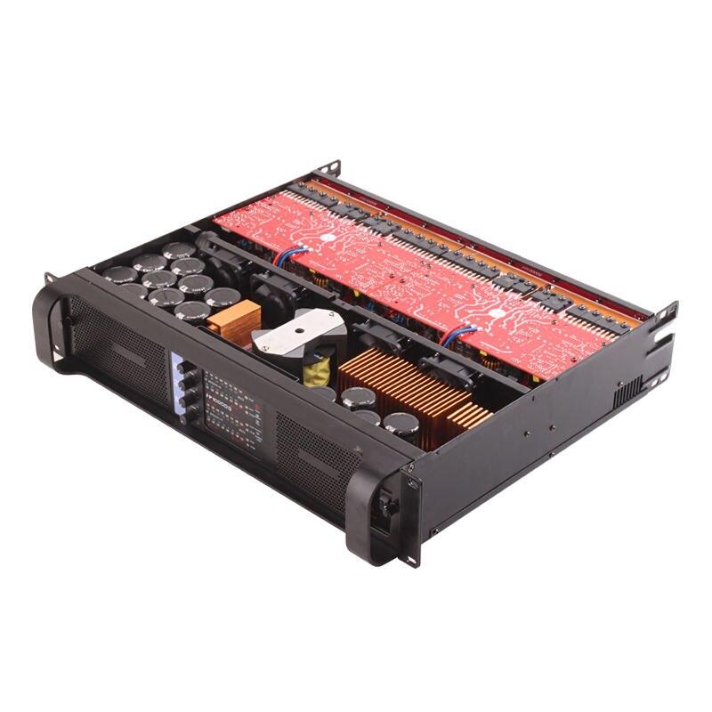 4CH 4*2500 Watts classe TD 10000q ligne amplificateur de puissance professionnel DJ Subwoofer poweramp Tulun play TIP10000q