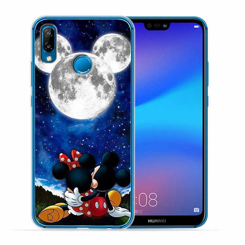 Luxury Stitch Mickey marvel For Huawei Mate 9 10 20 P8 P9 P10 P20 P30 P Smart Lite Plus Pro phone Case Cover Coque Etui funda