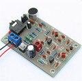 DIY kit fm-передатчик радио MP3 передатчик + беспроводной микрофон радио пластины выбросов производства diy electronice комплекты