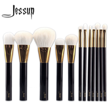Jessup NEW 12pcs Professional Makeup Set Pro Kits Brushes makeup cosmetics brush Tool foundation eyeshadow powder Lip wool