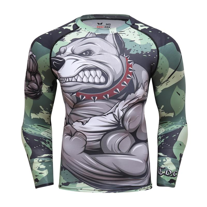 HTB1bXsCdCtYBeNjSspaq6yOOFXaW - Brand new Men Suit Rashguard Long Sleeve Crossfit Men T Shirt Compression Sportswear Set Men Thermal Fitness Clothing Tracksuit
