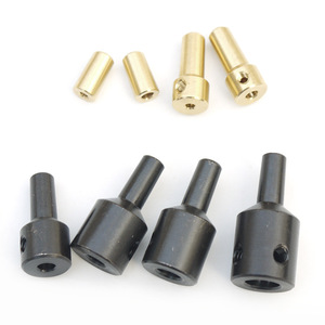 Jt0 drill chuck adaptor connecting rod shaft sleeve steel copper coupling 2.3mm/3.17mm/4mm/5mm/6mm/8mm