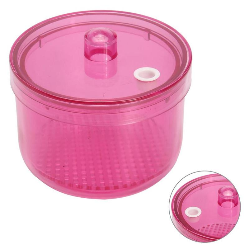 Mini Nail Art Imported Resin Sterilizer Tray Nail Art Makeup Tools Sterilizer Box Container Manicure Beauty Salon Tray props