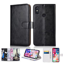 TPU Wallet Case for Xiaomi Redmi 4X 5 Plus 5A 6 Pro Mi A2 Lite 6A 7 S2 Cover for Xiaomi Redmi Go Note 7 8 4 4X 5 Pro case(China)