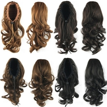 High Quality 36CM Long Hair Wig Heat Resistant Natural Female Wigs Halloween Cosplay Party Decoration New недорого