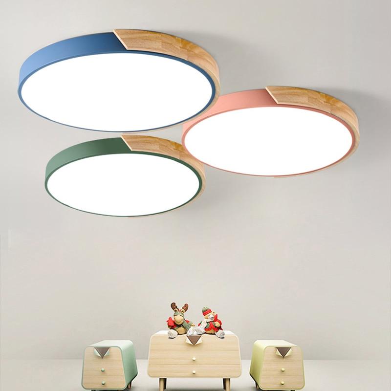 Ultra-mince LED plafond éclairage de plafond lampes pour le salon lustres de Plafond pour le hall moderne plafond lampe haute 5 cm