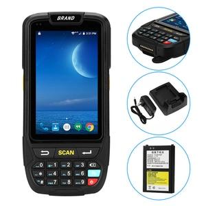 Image 4 - Scanner de codes barres, grand écran 1d, avec bluetooth, android, scanner de terminal de données, pda, PL 40L