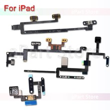Volume Audio Button Power Flex Cable For iPad Mini Air 1 2 3 4 5 6 Pro 9.7 10.5 12.9 CDMA 4G 3G Wifi Version(China)